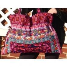 Plymouth Handmade Large Drawstring Tote Bags