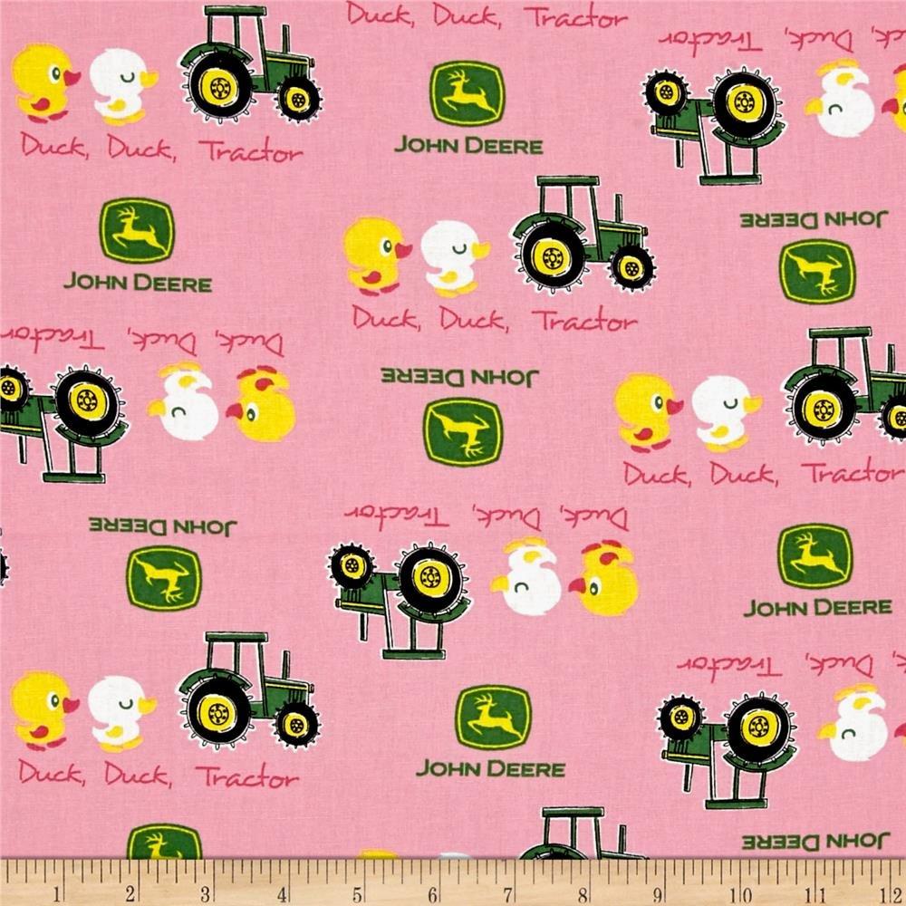 John Deere Pink Duck Duck Tractor