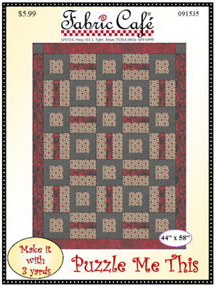 Puzzle Me This 3-Yard Quilt / Fabric Cafe