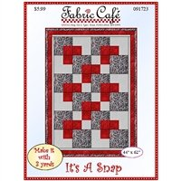 It's A Snap - 3 Yard Quilt / Fabric Cafe