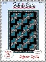 Jigsaw Quilt - 3 Yard Quilt / Fabric Cafe