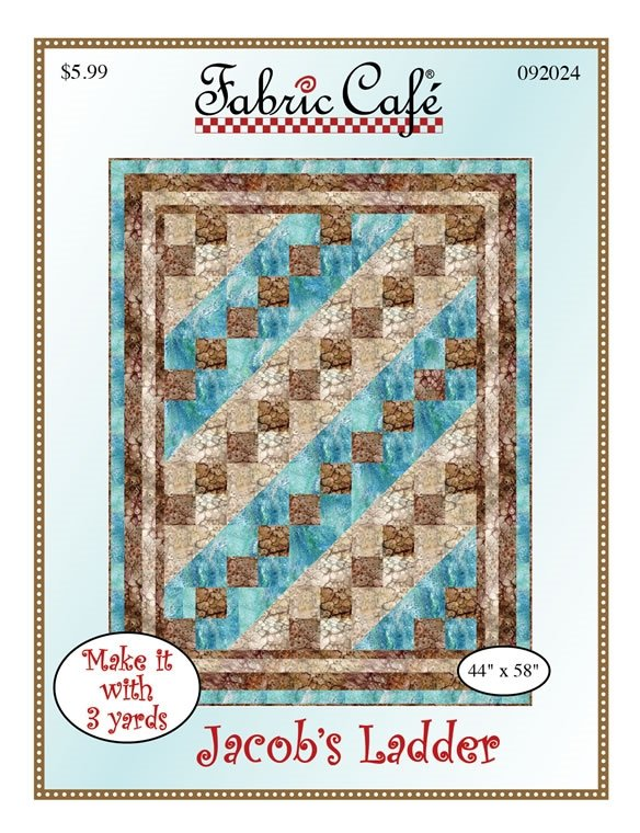 Jacob's Ladder 3-Yard Quilt / Fabric Cafe