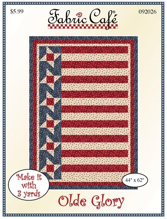 Olde Glory 3-Yard Quilt / Fabric Cafe