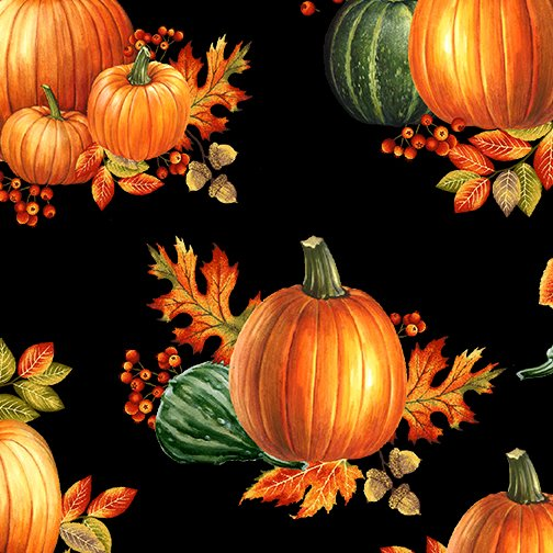 Autumn Elegance -1669M-12  Pumpkin