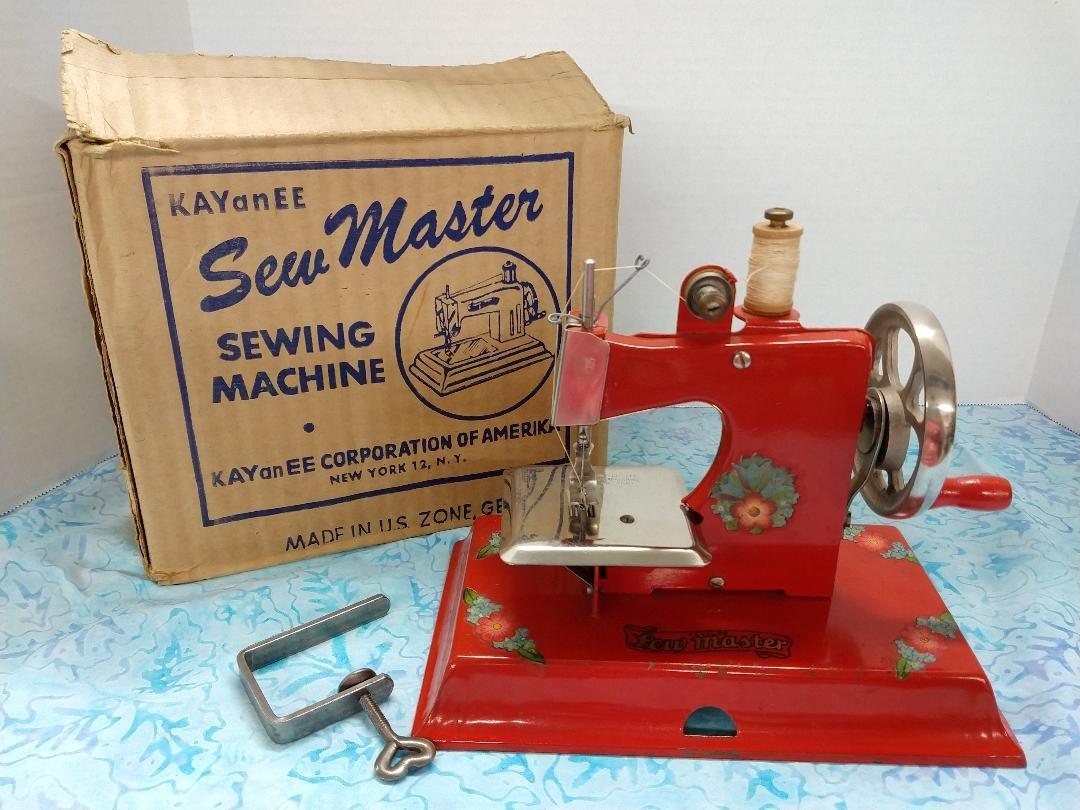 TSM Kay an EE, Sew Master - Red w/ Box
