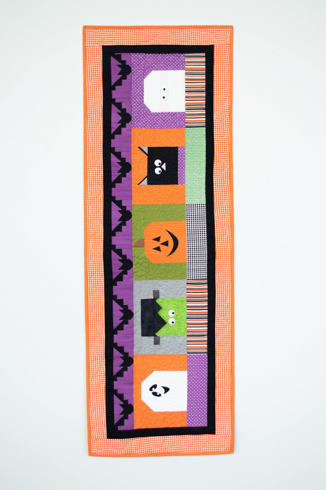 Halloween Blockheads - Table Runner of the Month / RBD