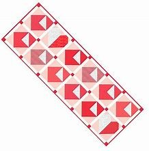 Love Notes - Table Runner of the Month / RBD