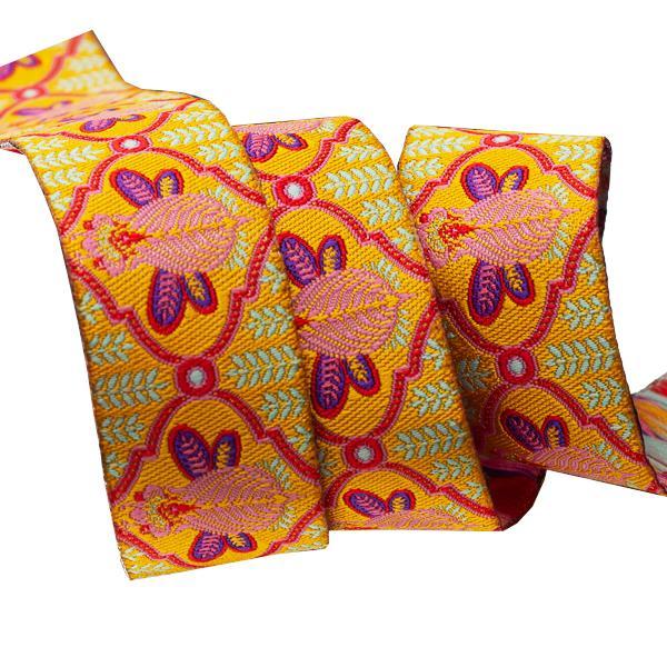 Bee Marigold 7/8 - Tula Pink / Renaissance Ribbon