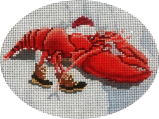 Ornament, Lobster Sleigh
