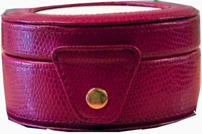 Needlework Case, Round Gift Box