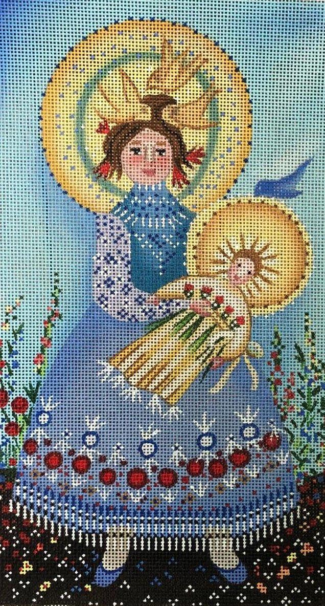 Blue Bird Madonna