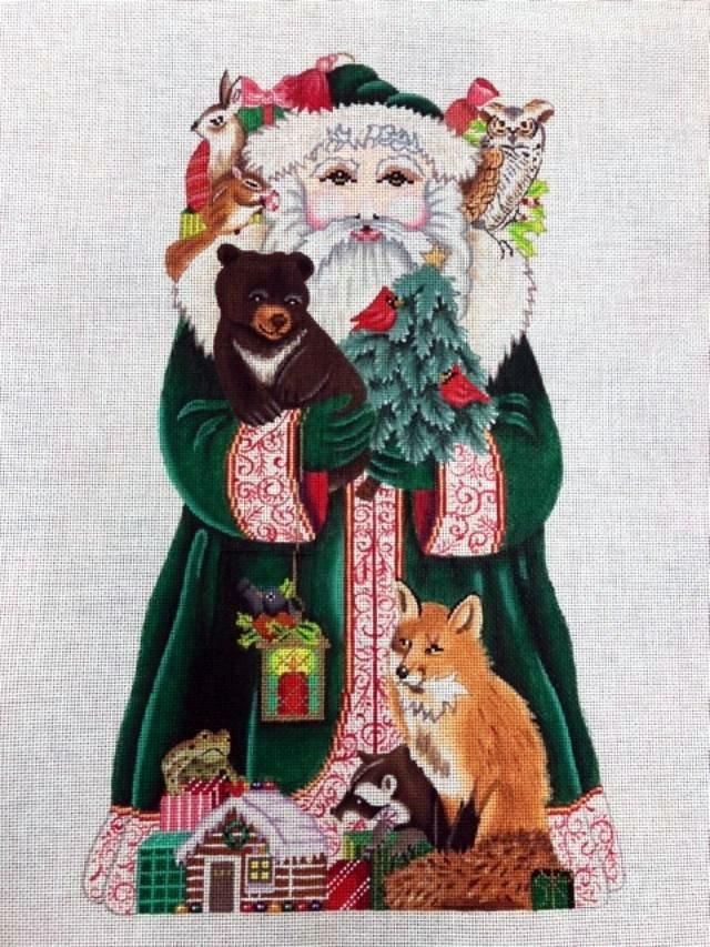 Stand-Up, Woodland Santa