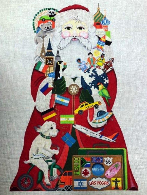 Stand-Up, Around the World Santa