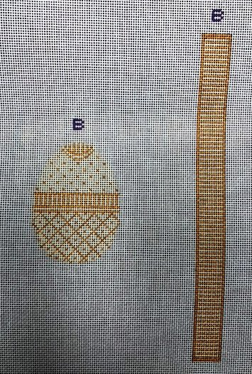 Egg, Elegant Yellow Egg with stitch-able Gusset Panel