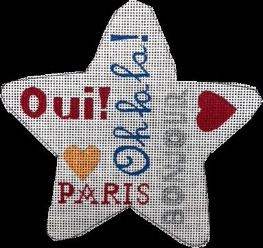 Ornament, Paris Star