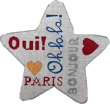 Paris Star Ornament