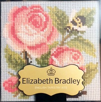 Rose Needlepoint Minder
