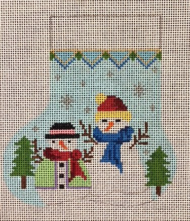 Ornament, Two Snowmen