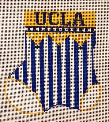 Ornament, UCLA sock