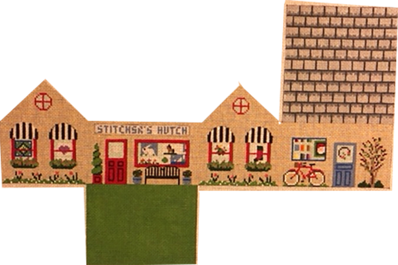 Stitcher's Fold-up 3D Mini House