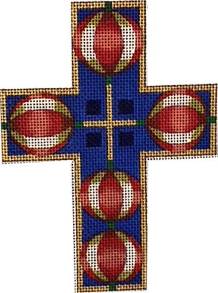 Cross, Pomegranates