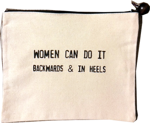 Accessory Bag Women Can Do it