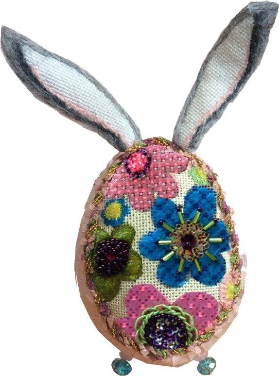 Bunny Egg, 2015 Floral