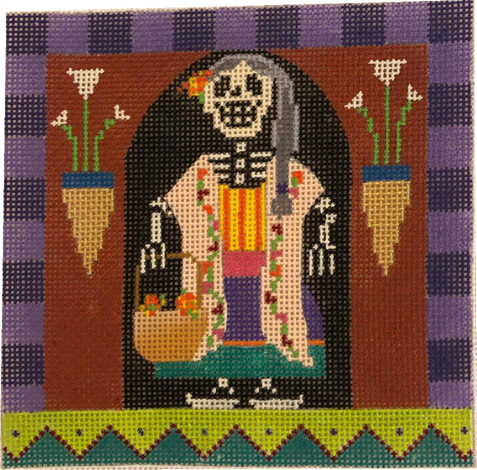 Day of the Dead Lady at Home