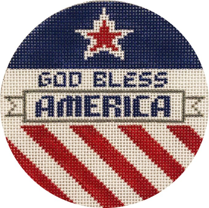God Bless America Ornament