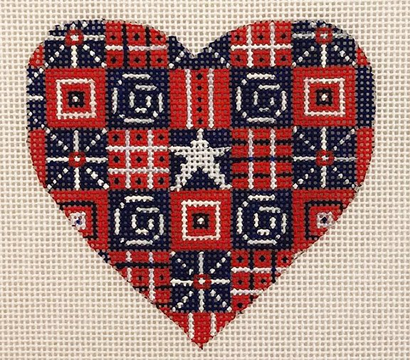 Heart, American Patchwork
