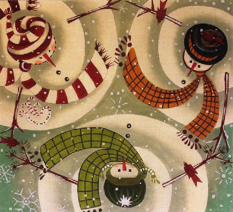 Swirling Snowmen