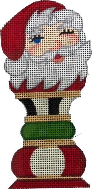 Ornament, Santa (King) Chess Piece