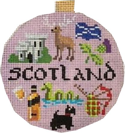 Travel Ornament-Scotland