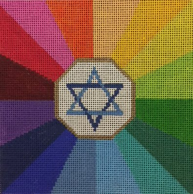 Star of David, Radiant Colors