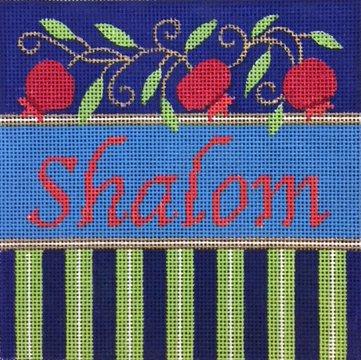 Shalom, Pomegranates and Stripes