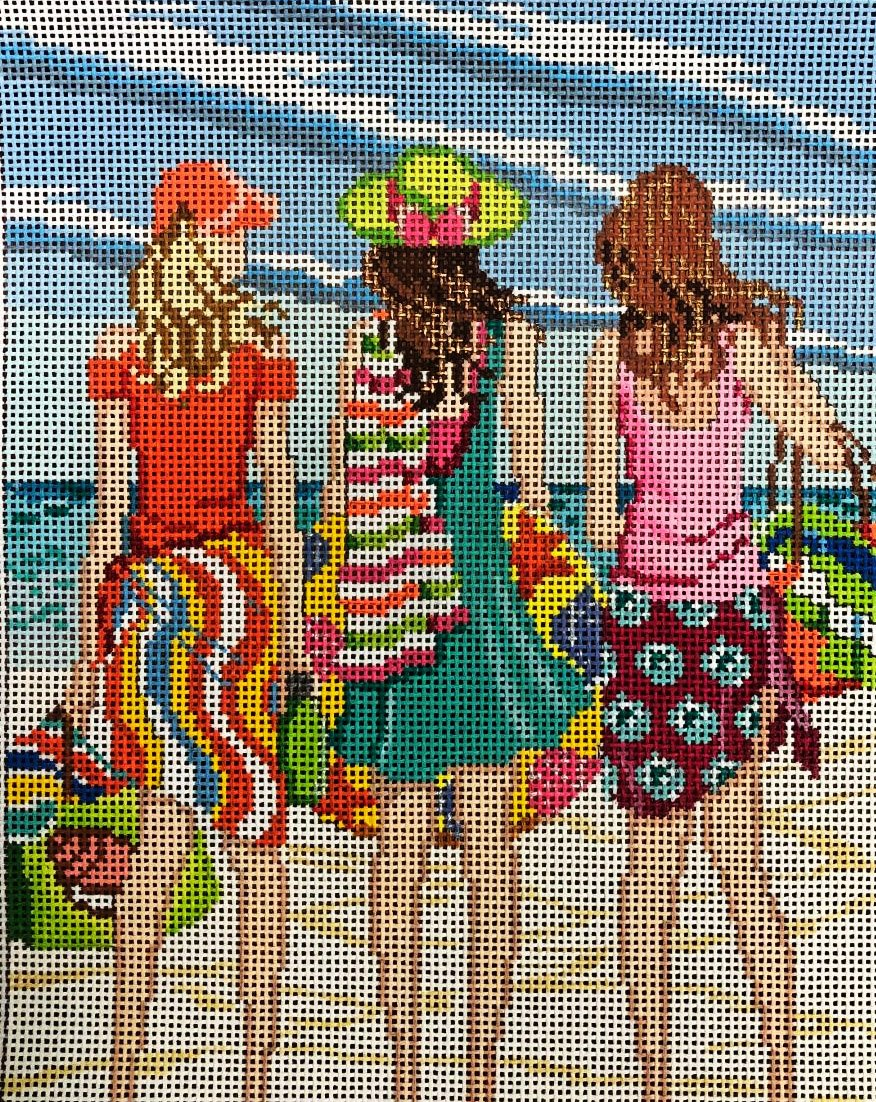 Ladies at the Beach