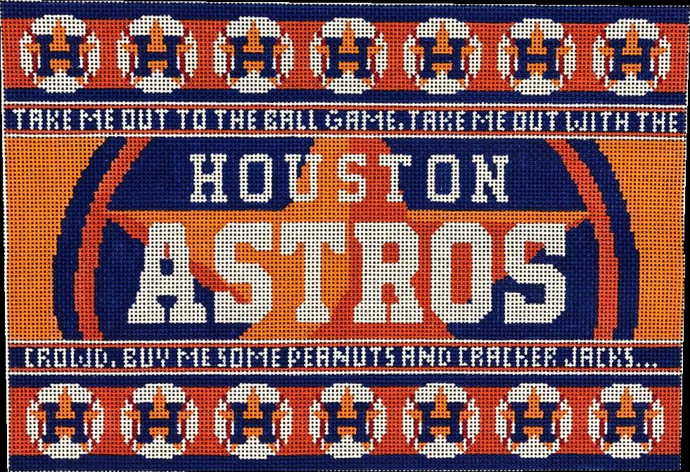 Houston Astros Pillow