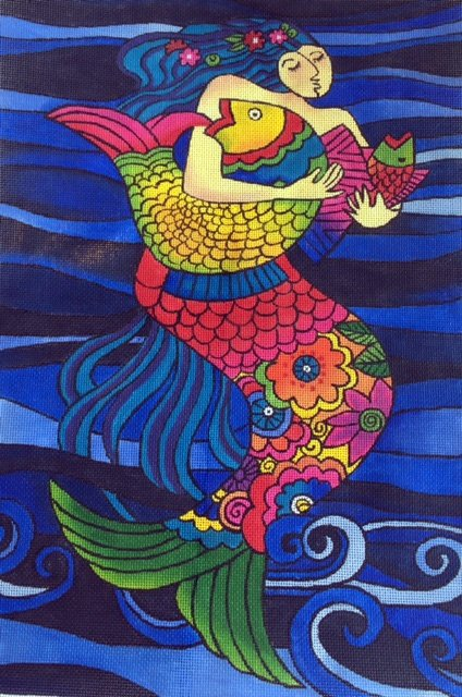 Mermaid and Fish
