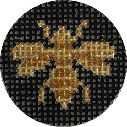 Key Fob Insert, Gold Bee