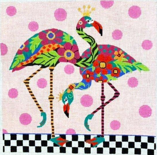 Wacky Flamingos
