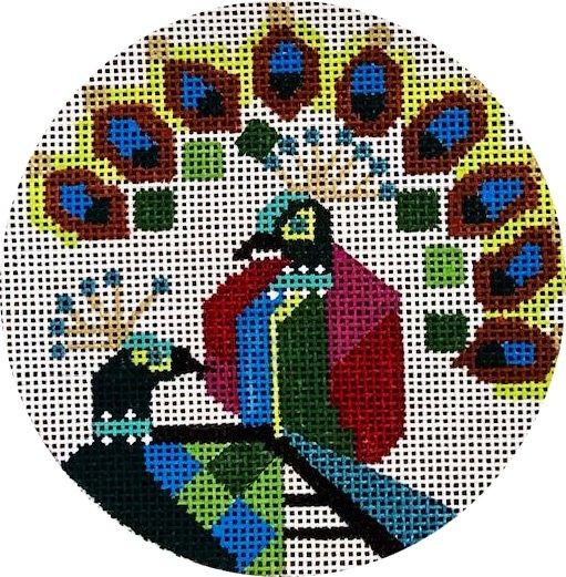 Peacocks Ornament