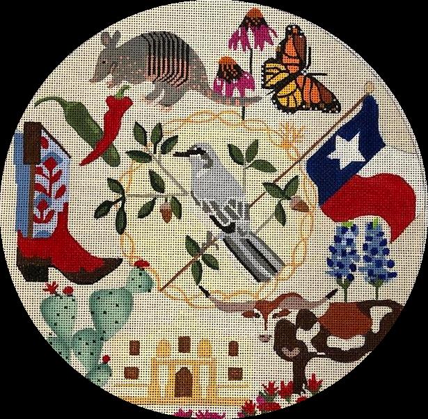 Texas Wreath