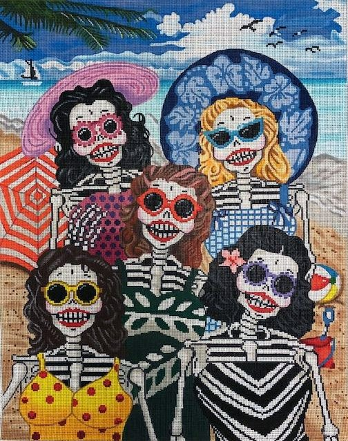 Day of the Dead Bathing Beauties