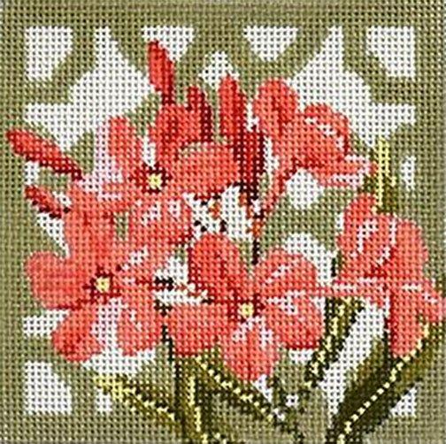 Trellis Coaster-Oleander