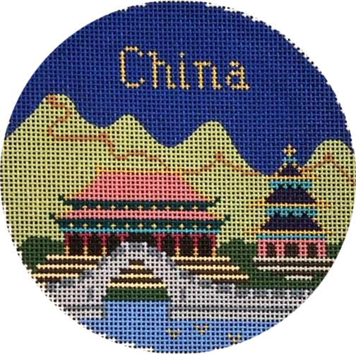 Ornament, Travel Round-China