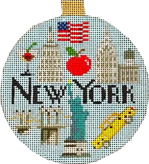 Ornament, Travel Ornament-New York