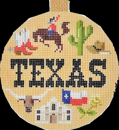 Ornament, Travel Ornament-Texas