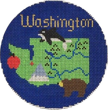 Ornament, Travel Round-Washington