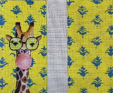 Eyeglass Case, Double Sided Giraffe