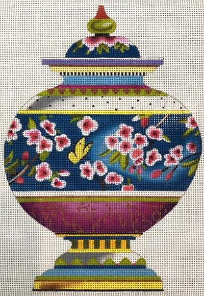 Ming Vase Cherry Blossoms